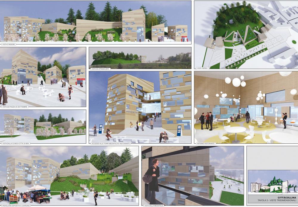 Concorso cittacollina boda 39 - Tavole di concorso architettura ...